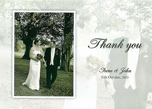 Irene and John Wedding testimonial