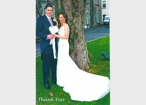 John & Donna Wedding Testimonial Photograph